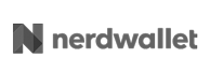 Nerdwallet logo shown as a customer of Office Libations