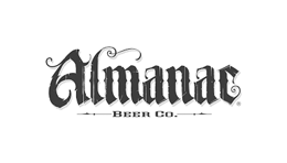Black & white logo - Almanac Beer Co. delivery to offices in SF Bay Area