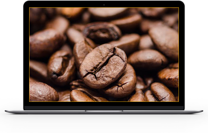 image of fair trade coffee beans from Office Libations