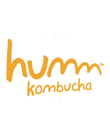 Logo for humm kombucha delivery to offices in SF Bay Area by Office Libations