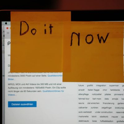 Image of very important sticky note reminders to prioritize tasks