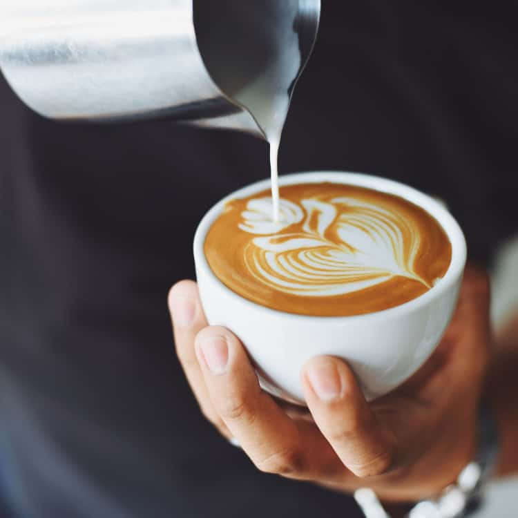 Image of a visually appealing cup of coffee