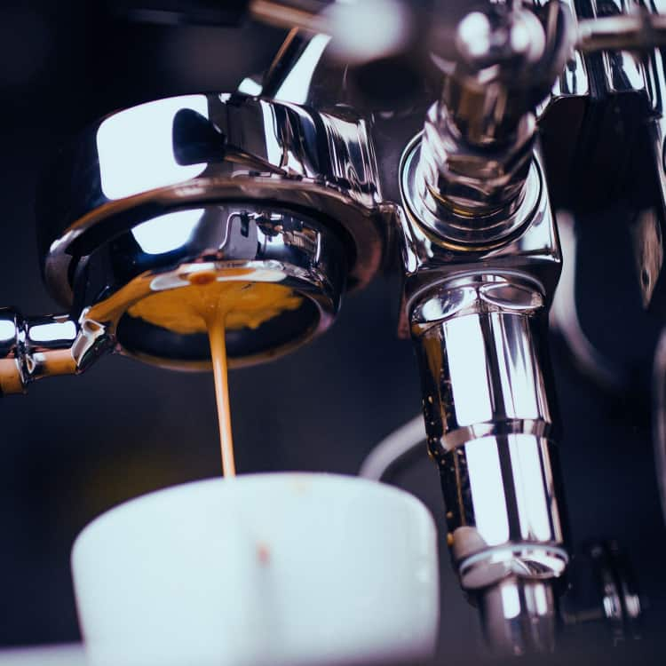 Image of local cold brew coffee on tap