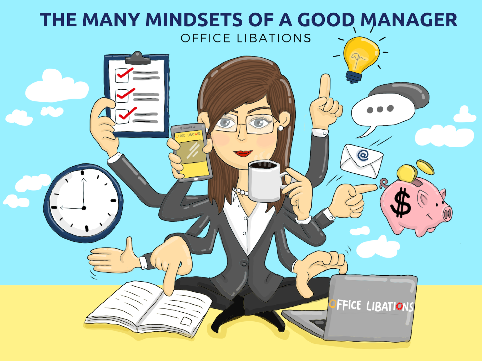 The Many Mindsets Of A Good Manager - Office Libations