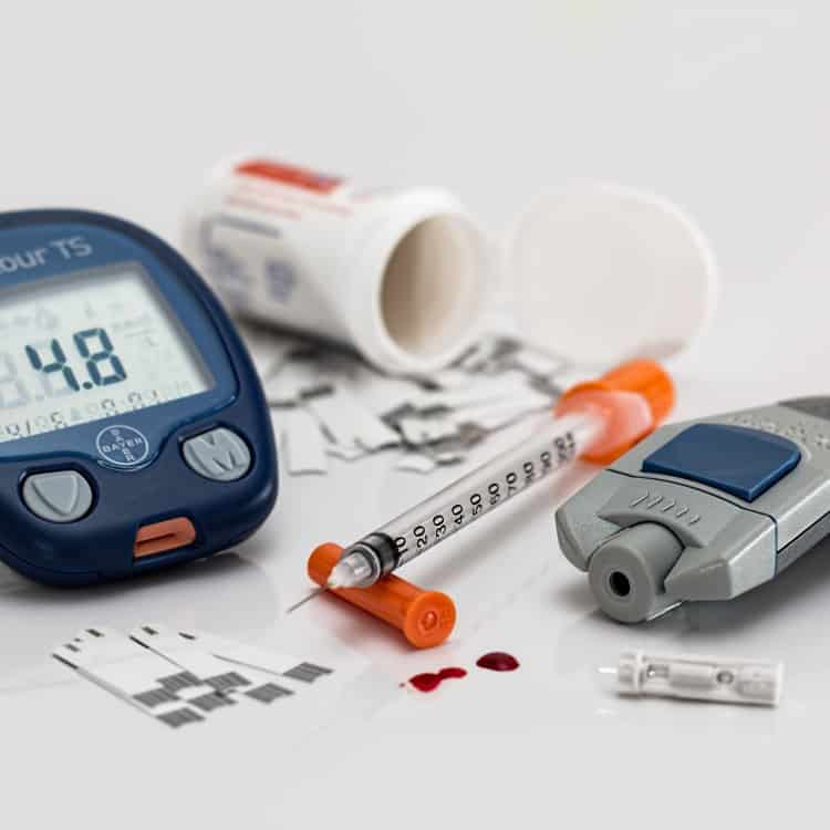 image of diabetic tools