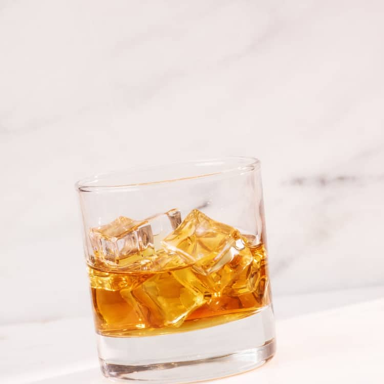 image of an old fashioned cocktail
