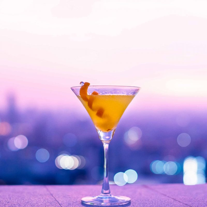 image of a flame of love cocktail