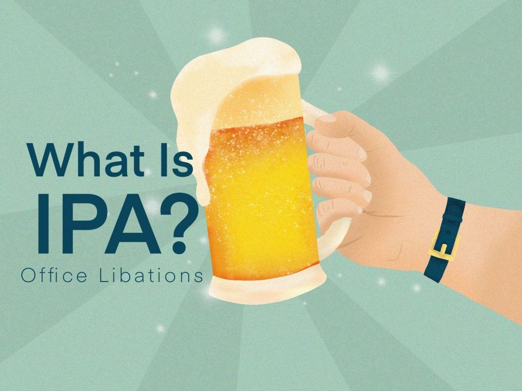 illustrated cover image for guide to IPAs from Office Libations